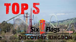 Six Flags Roller Coasters List Top 5 Coasters At Six Flags Discovery Kingdom Youtube