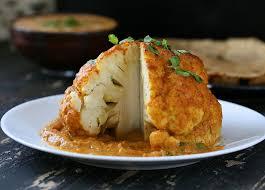 gobi musallam whole roasted cauliflower with makhani