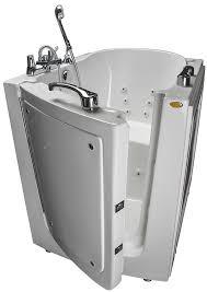 Size Bathtub Designed For Seniors Walk In Tub Models Hydrotherapy Bathing