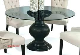 round glass top tables 42 inches 36 inch round glass top dining table new glass top pedestal table