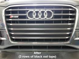 audi q7 front license plate bracket sq5 mod front license plate removed holes covered w
