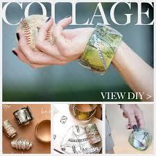 bangle bracelet diy images Diy bangle bracelet with tape collaging jpg