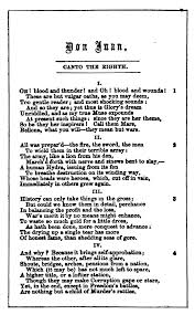 How To Ask Maid Of Honor Poem Don Juan By Lord Byron