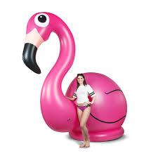 11 foot flamingo lawn ornament geekologie