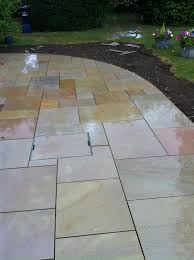 fairstone sawn slab paving award winning patio