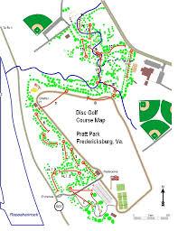 pratt map pratt park professional disc golf association
