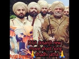 diljit dosanjh new movie shoot song dhadhi jatha latest