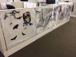 How To Decorate Your Cubicle For Halloween Images Of Office Cubicles Halloween Decorations Google Search