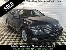 lexus hybrid suv for sale uk second hand lexus ls 600h l 5 0 4dr cvt auto rsr rear relaxation
