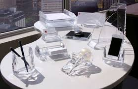 Office Desk Accessories Set Acrylic Desk Accessories Set U2014 All Home Ideas And Decor Acrylic