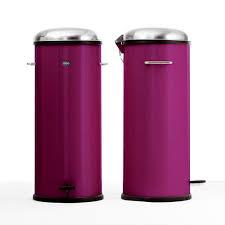 poubelle cuisine pedale 30 litres poubelle à pédale 30 litres purple vipp photo de les poubelles
