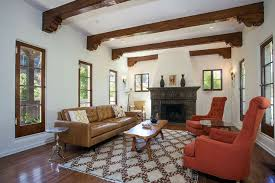 Decorative Armchairs Outstanding Spanish Style Living Room Paint Colors For White Wall