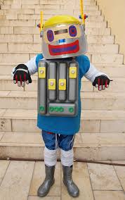 Robot Halloween Costume Creative Diy Halloween Costume Ideas