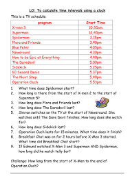 finding time intervals from a tv schedule differentiated by