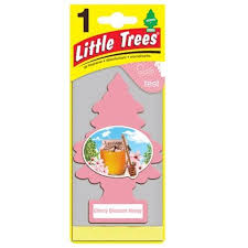 cherry blossom honey trees car air freshener 24 blister