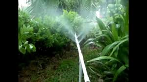 Homemade Outdoor Misting System by Diy Mini Sprinkler 360 Watering In Garden Lawn Misting 3 Youtube