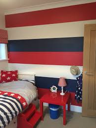 Red And Light Blue Bedroom Bedrooms Overwhelming Room Colour Combination Calming Bedroom