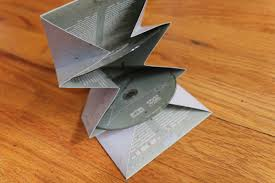 Origami Cd Cover - the flight i flew ian cooke