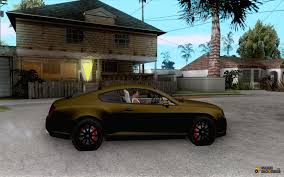 bentley car gold bentley continetal ss dubai gold edition for gta san andreas