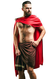 Halloween King Costume Amazon Men U0027s Greek Spartan Warrior King Leonidas Ancient