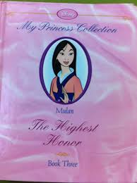 mulan highest honor 3 princess collection