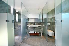 Modern Bathrooms South Africa - cliff view modern spa house in cape town south africa by
