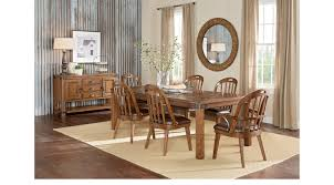 Rooms To Go Dining Room Furniture Eric Church Highway To Home Heartland Falls Brown 5 Pc Rectangle