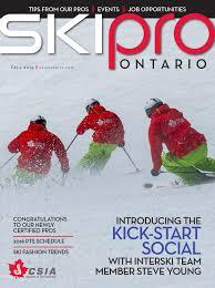 ski pro ontario fall 2015 by ski pro ontario issuu