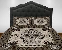 sugar skull bedding comforter set duvet cover day of the