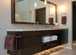 Rustic Farmhouse Bathroom - bathroom ideas bathroom cabinet design with rectangular mirror