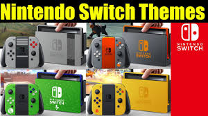 Appliance Colors 29 Amazing Nintendo Switch Colors Themes And Designs Unofficial