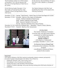 holy land tours catholic the holy doors in the holy land plenary indulgence year of mercy
