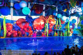 Six Flags Dolphin Swim Cirque Dreams Splashtastic At Six Flags Discovery Kingdom Show