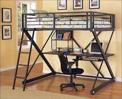 Double Size Loft Bed With Desk Bedroom Awesome Twin Bed Desk Combo Bunk Bed With Sofa And Desk