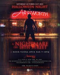 halloween at ainsworth park a nightmare on 18th street tickets