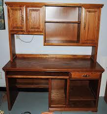 Computer Desk Armoire Oak The Excellent Oak Computer Desk Home Design Blog