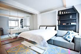 city studio apartment contemporary bedroom london by black