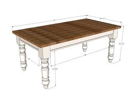 Free Simple End Table Plans by Best 25 Farmhouse Table Plans Ideas On Pinterest Diy Farmhouse
