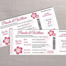 diy printable wedding boarding pass from weddingcreative on etsy
