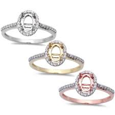 semi mount engagement rings oxford co 14ct oval halo style semi mount engagement ring