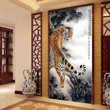 home interior tiger picture aliexpress com buy needlework embroidery forest