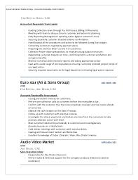 debt recovery resume eliolera com