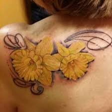 30 lovely and peaceful daffodil tattoo designs tattoo daffodil