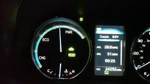 lexus nx300h vs rav4 hybrid 2016 rav4 hybrid system indicator problem youtube