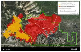 Canada Wildfire App by Pincher Creek Voice September 12 Updates Southwestern Alberta