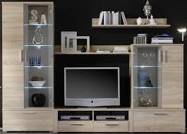 Wohnzimmerschrank F Fernseher 6 6 5 930 Schöne Wohnwand Tv Wand Eiche Sonoma Dekor