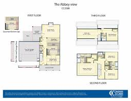 floor plans bc abbey view caviness and cates builders
