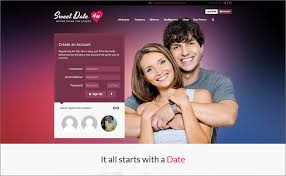 Sweet Date Dating WordPress Theme