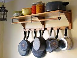 kitchen rack ideas kitchen rustic ideas for storing pots and pans how to store pots