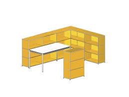 modular reception desk metal haller usm modular furniture